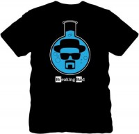 Breaking Bad: Heisenberg Lab Flask Shirt